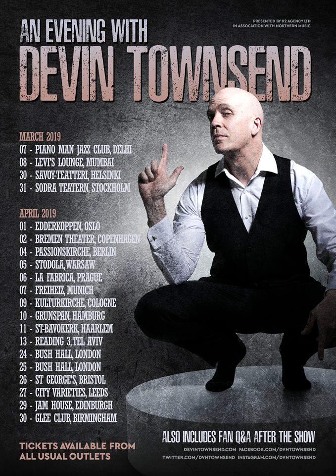 An Evening With Devin Townsend Tour